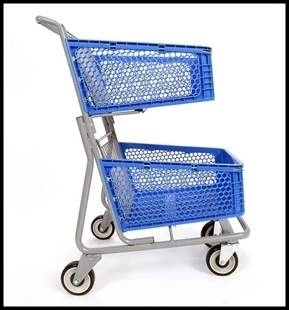 Plastic Cart 2 Tier