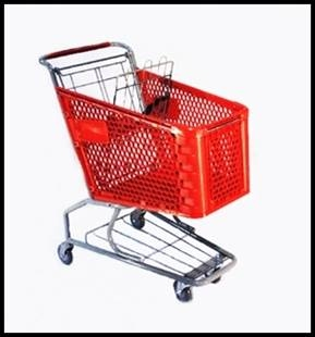 Plastic Cart Small
