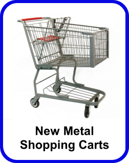 New Metal Shopping Carts
