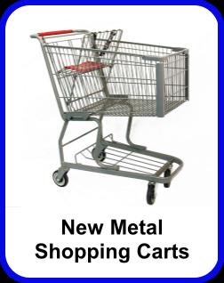 New Metal Shopping Carts