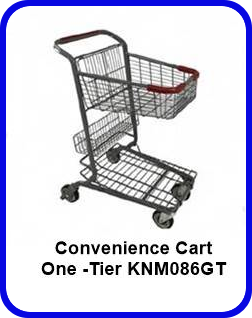One -Tier Convenience Express Cart - KNM086GT