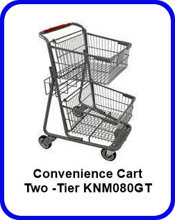 Two -Tier Convenience Cart - KNM080GT