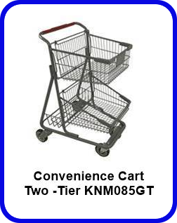 Two -Tier Convenience Cart - KNM085GT
