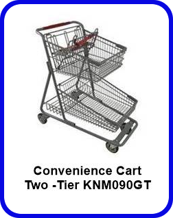 Two -Tier Convenience Cart - KNM090GT