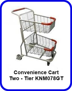 Two -Tier Convenience Cart - KNM078GT