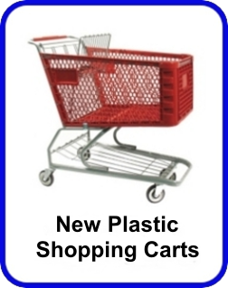 New Plastic Shopping Carts