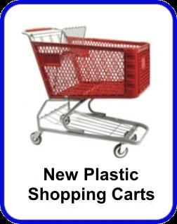 New Plastic Shopping Carts