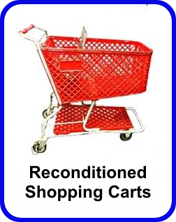 Reconditioned Shopping Carts