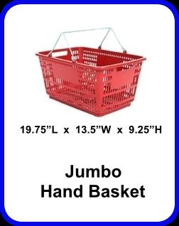 Hand Basket Jumbo