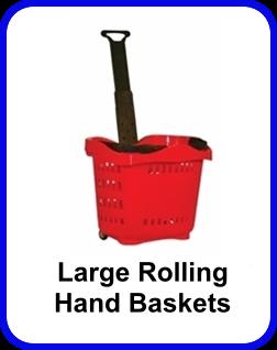 Rolling Hand Basket