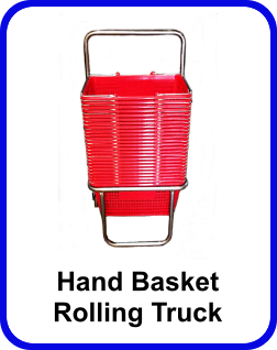 hand basket rolling truck