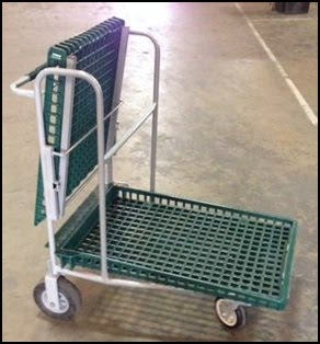 Nursery Cart Plastic Top